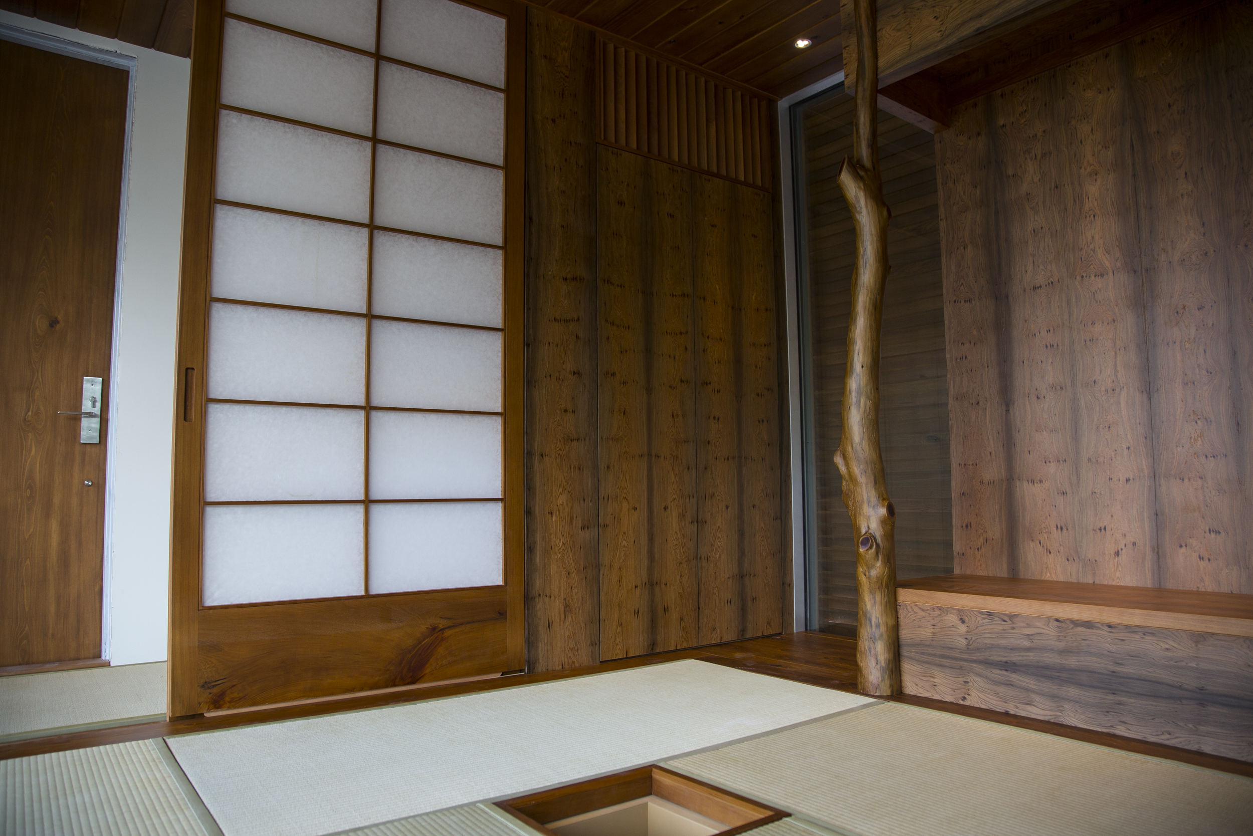 Interior woodworking ( by Dale ) in the Japanese Tea House