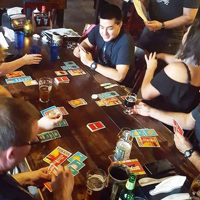 Some Burger Battles are going down at Cloak and Blaster in Orlando, FL! - #burgerbattle #burgerbattlegame #tabletop #boardgamepub #cloakandblaster #gaming #pub #gamenight #boardgames @cloakandblaster