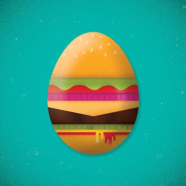 Happy Easter from Burger Battle! 🍔 - #easter #happyeaster #easterbunny #burger #burgerbattle #egg
