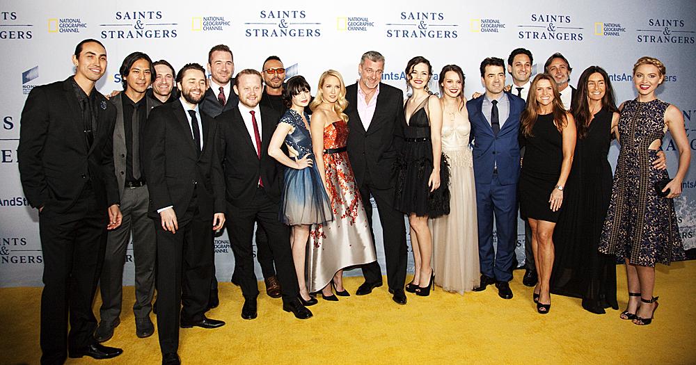 National Geographic's 'Saints & Strangers' World Premiere