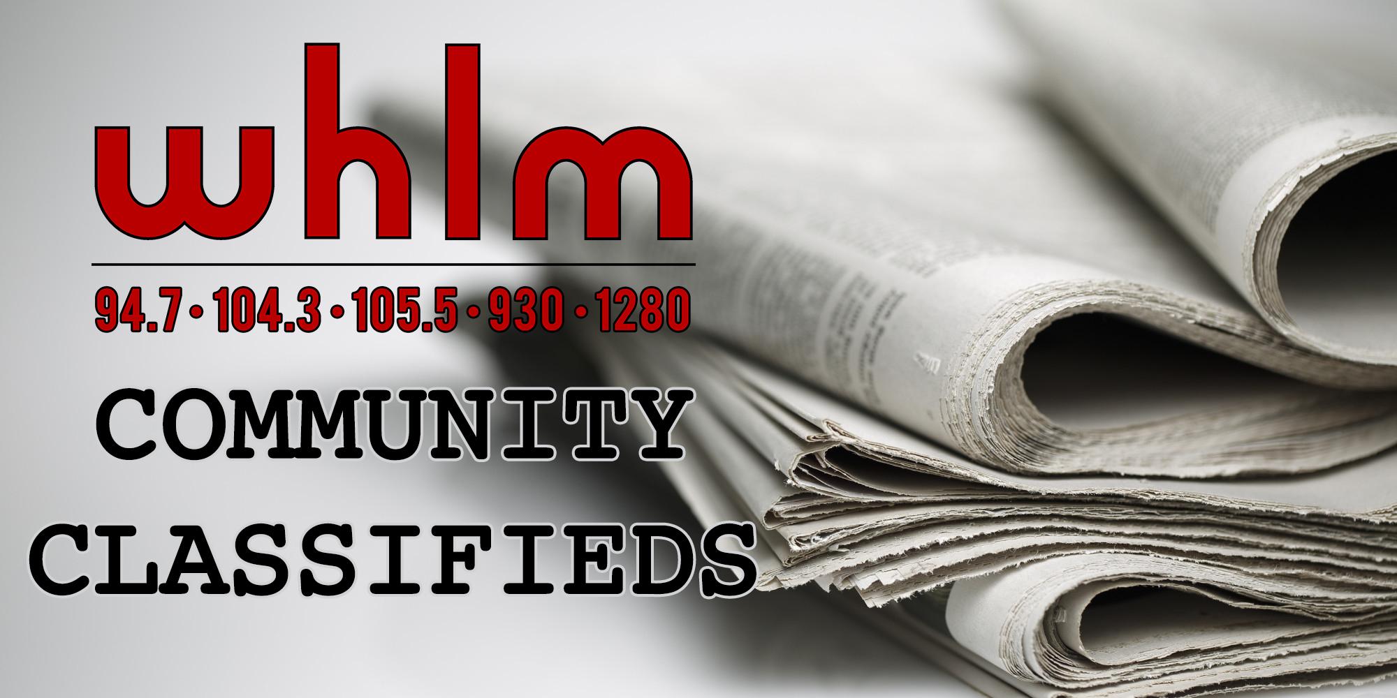 community classifieds