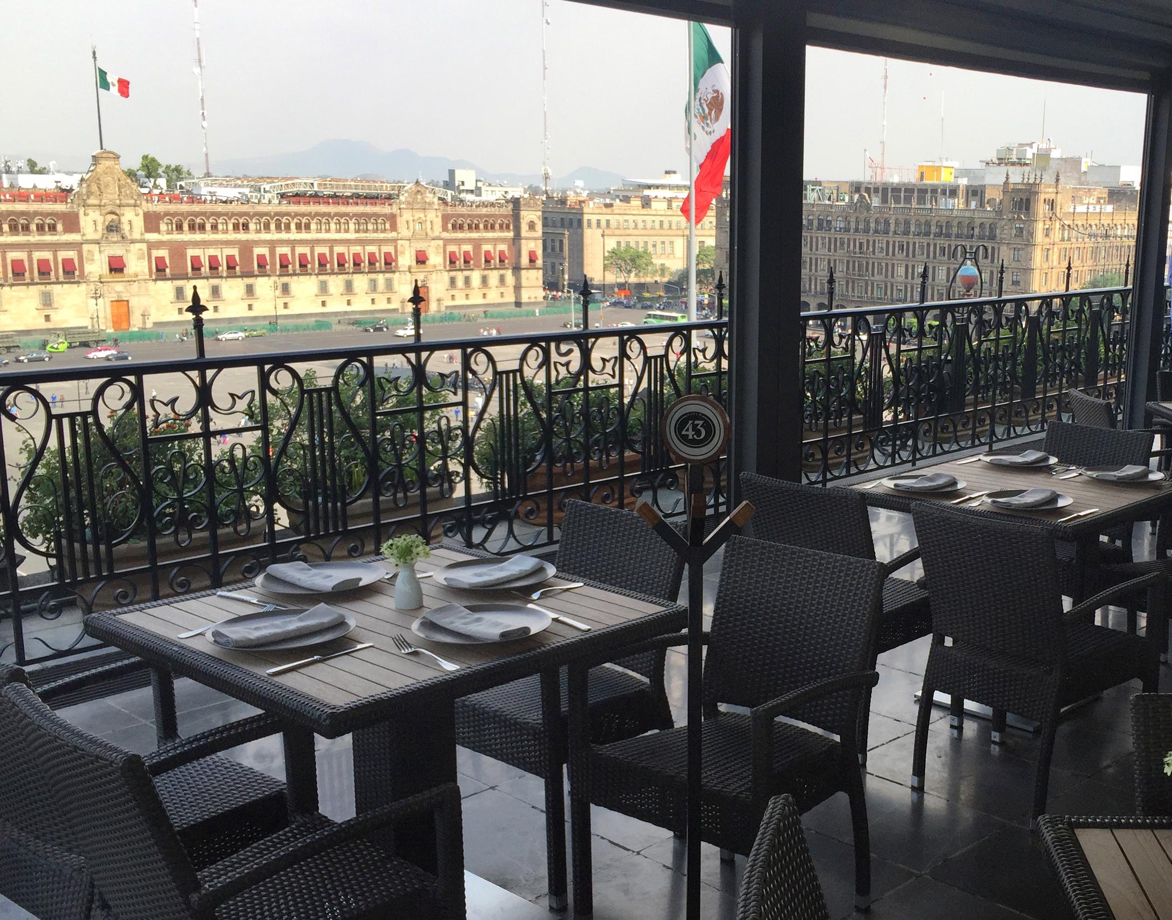 A Room With A View El Balcón Del Zócalo Good Food Mexico