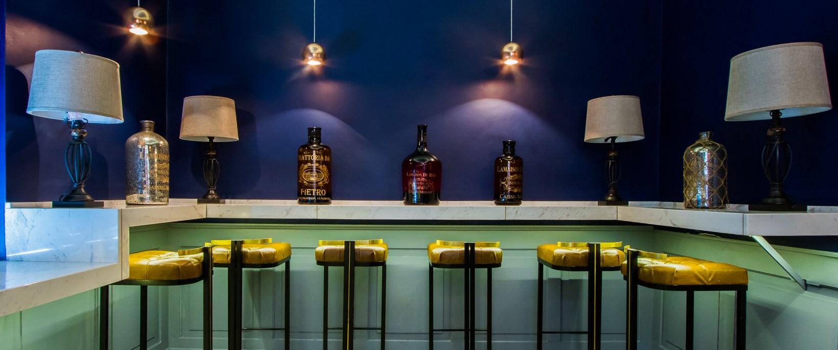 The bar at Padella