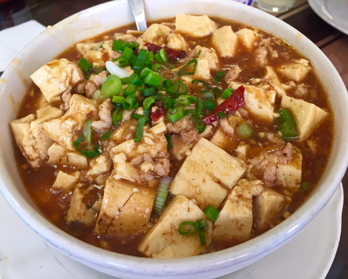 Ma Po Tofu at Ka Won Seng
