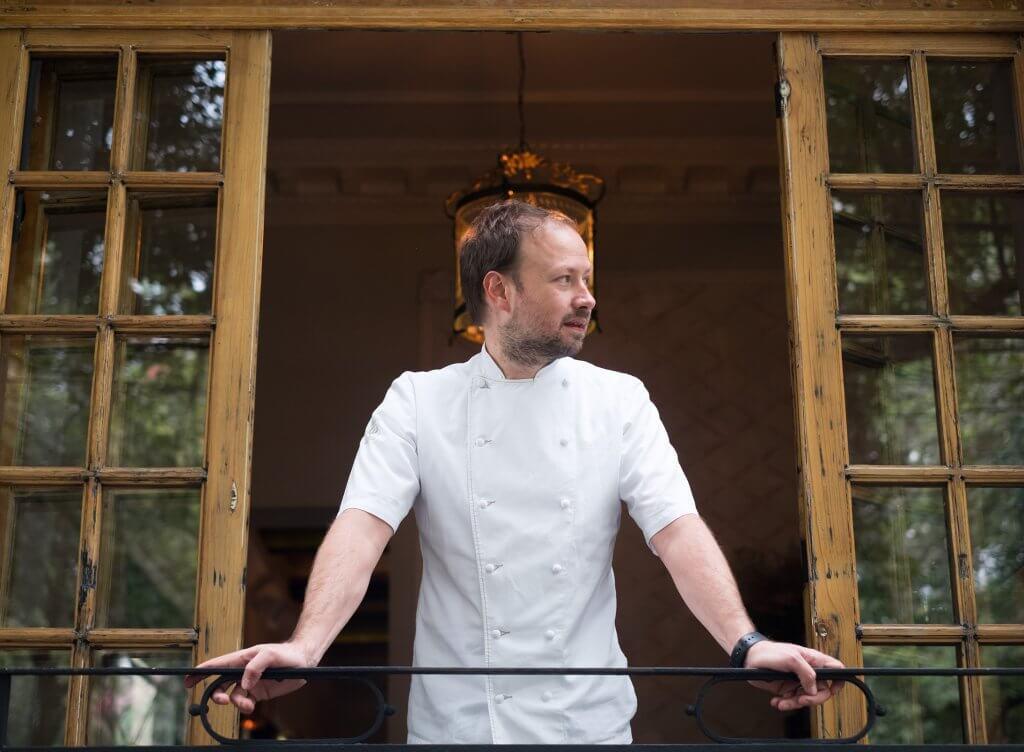 Chef Santiago Migoya