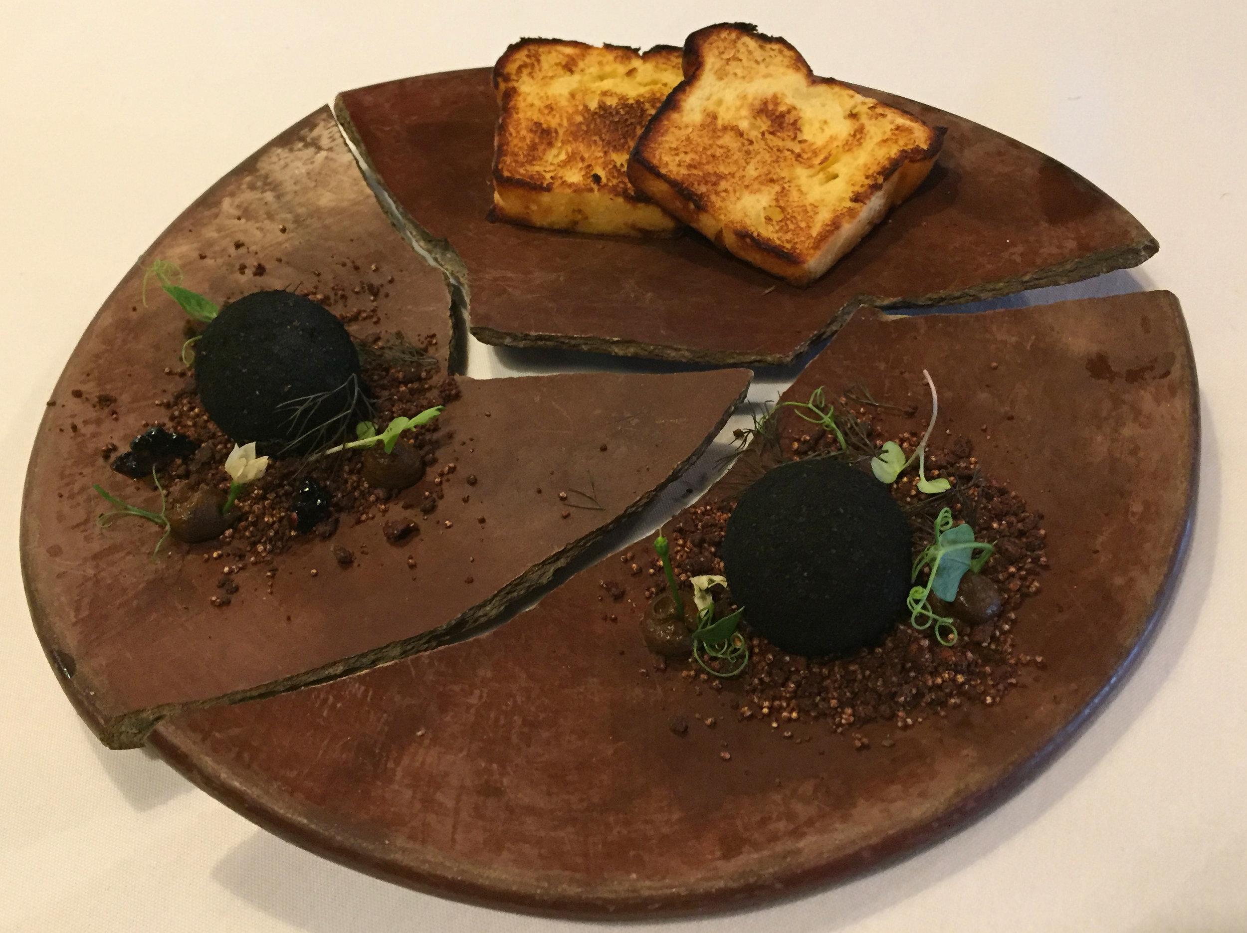 truffles with foie gras
