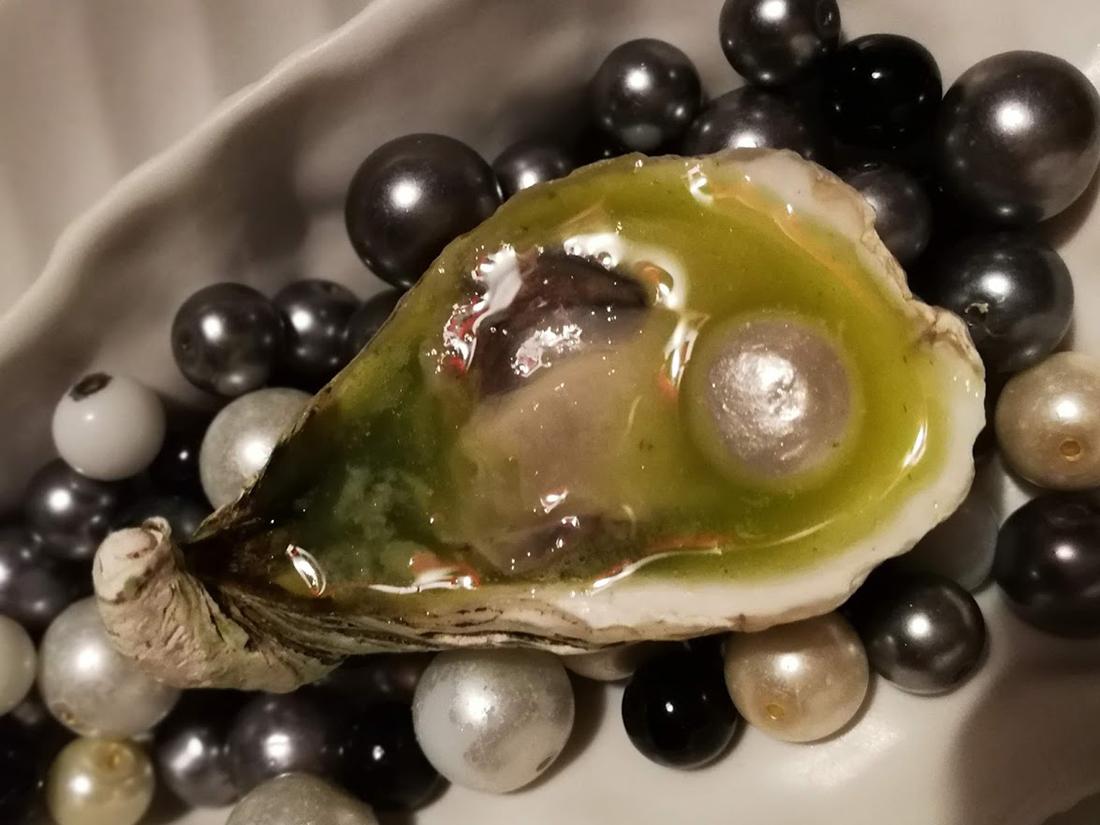 Ostion + aguachile + perla
