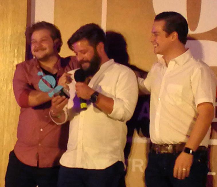 Los hermanos Rivera-Rio de Koli llevan su premio