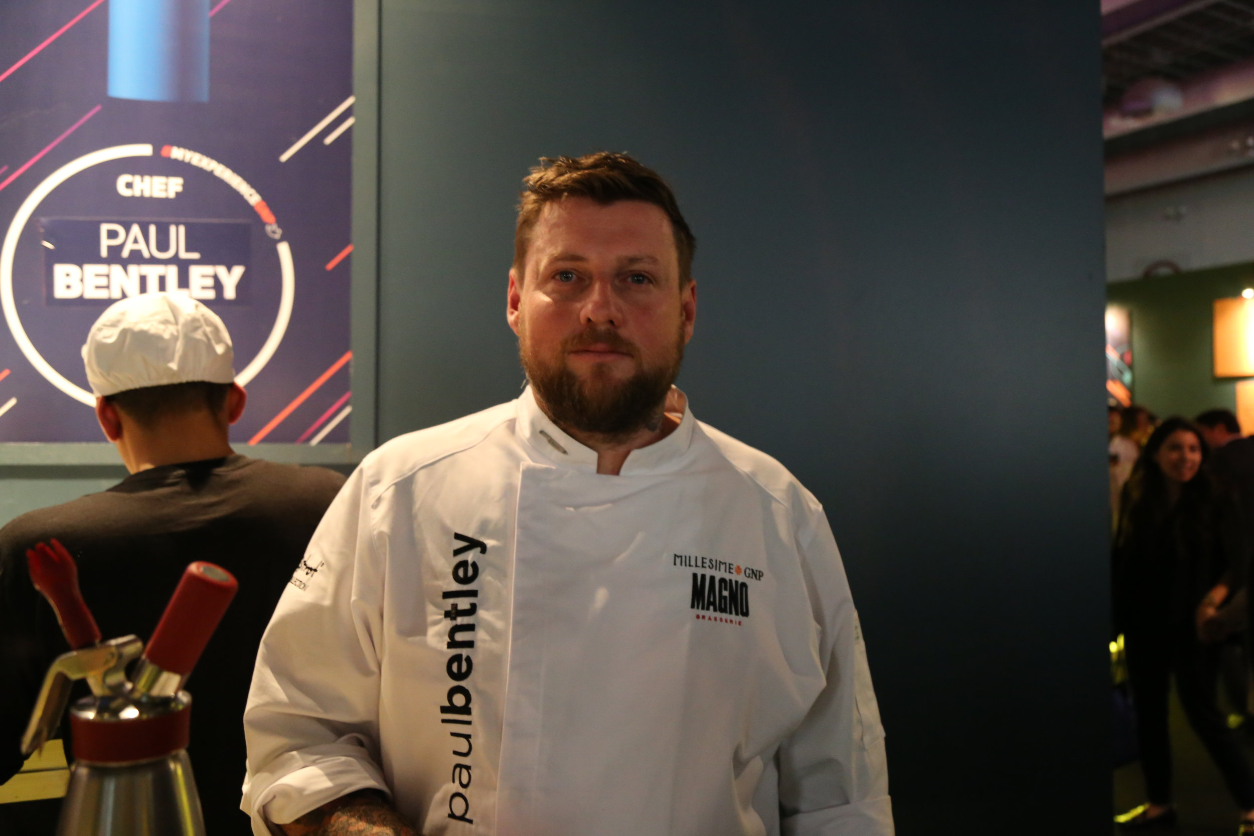 Paul Bentley, Australian chef of Guadalajara's superb  Magno Brasserie  was a returning invitee