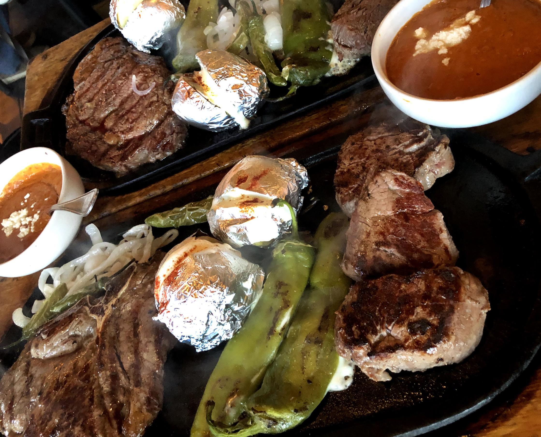 Steak en Palominos