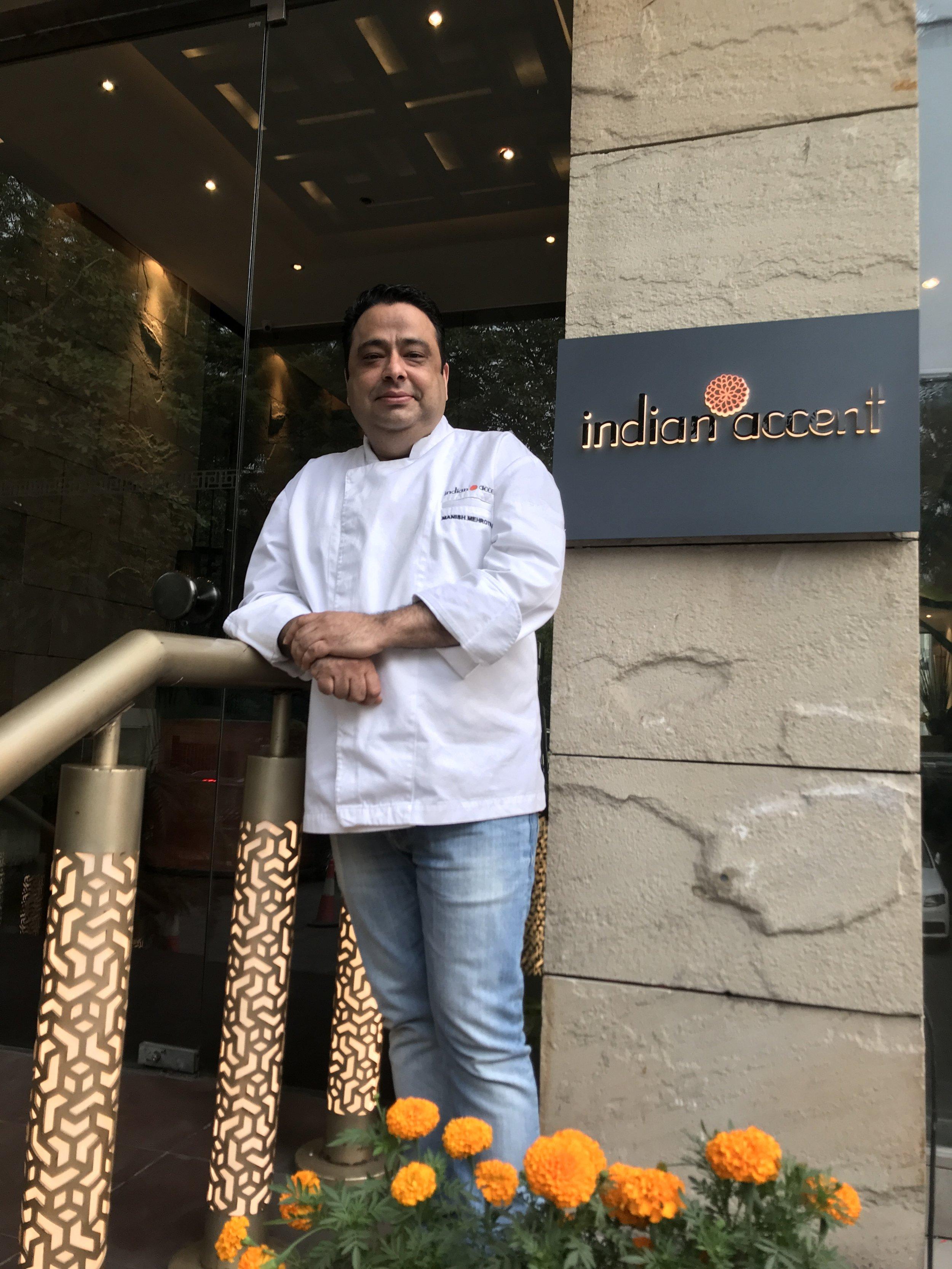 Manish Mehrotra, Corporate Chef, Indian Accent Restaurants.JPG