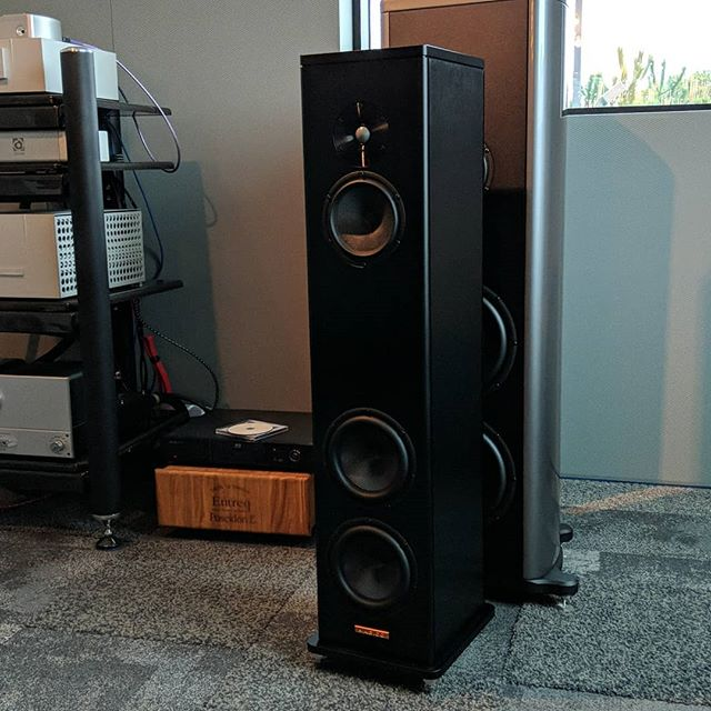 They are here!  The new Magico A3 speaker has arrived.  #audiophiles #audioporn @magico_llc