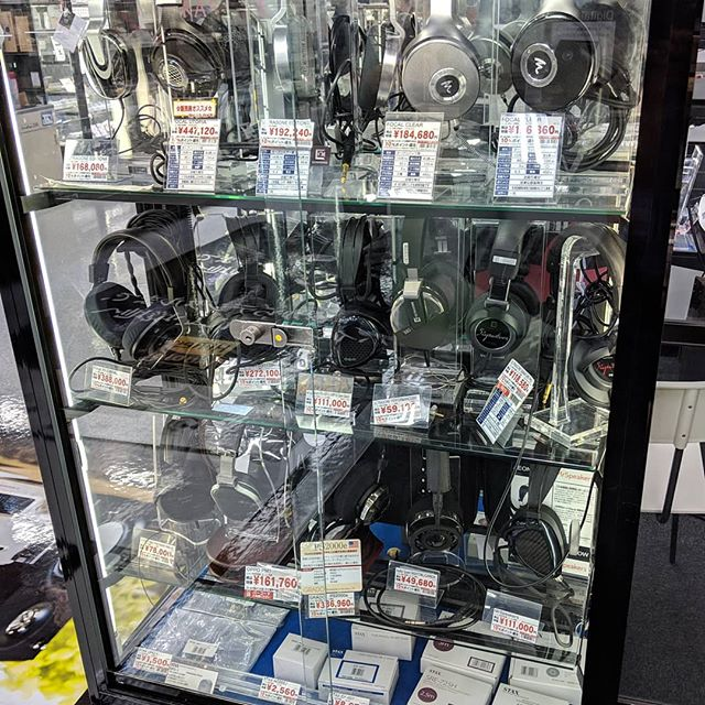 The audio shopping in Japan is insane.  So many good audio adventures to be found.  This shop sold $30 - $5000+ headphones in the same store... Very different than our shop in the US.