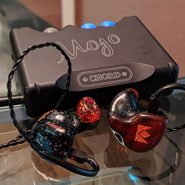 We provide the Mojo , you provide your IEM.  Custom Noble Audio pairs excellent with the @chordelectronics Mojo!  #headfi #audiophile
