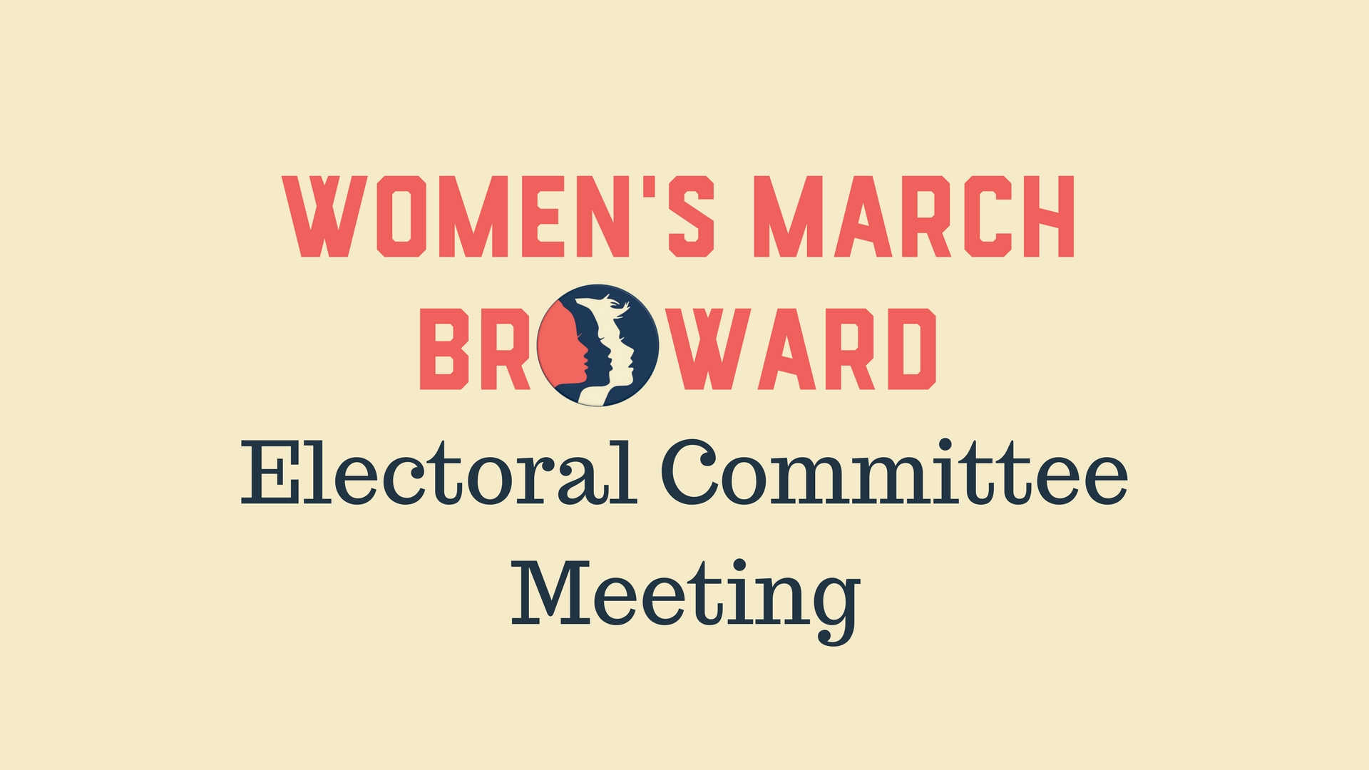 6-6-2018: Electoral Committee Meeting - Please join the Electoral Committee to discuss hosting candidate forums ahead of the primaries.The Electoral Committee works to track candidates and races affecting Broward County and to create opportunities for constituents to meet candidates. Please join us!