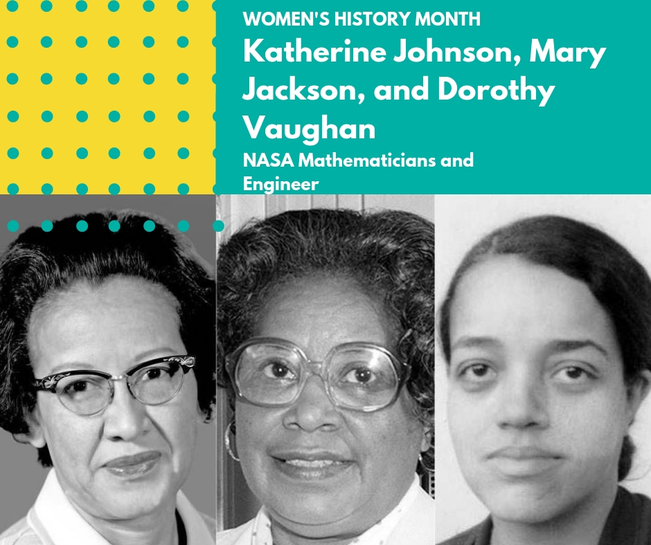 Day 18: Katherine Johnson, Mary Jackson, and Dorothy Vaughan - 🌺 Mary Jackson was an African American Aerospace engineer and mathematician who earned her BS in Mathematics and Physical Science from the Hampton Institute. After working as a schoolteacher among other jobs, Jackson joined NASA in 1950 as the first black female engineer. Early in her career she worked on wind tunnels and flight experiments. Over time, she participated in the Federal Women's Program at NASA to help promote and advance women in areas of mathematics, engineering, or science. Throughout her career she continued to advocate for women and minorities.🌺 Katherine Johnson, an African American mathematician, started her career examining flight data and providing math equations for the Notes on Space Technology lecture series. Her most notable contributions include her orbital mechanics calculations for the Project Mercury space flights and her intricate computations used in pioneering computer use for trajectory analysis. In addition, Johnson's work became instrumental in creating the Space Shuttle program. In 2015, President Obama presented her with the Presidential Medal of Freedom for her groundbreaking and instrumental work.🌺Dorothy Vaughan, an African American mathematician, worked at NASA and NACA throughout her career. After working as a math teacher, Vaughan signed on with the Langley Memorial Aeronautical Laboratory as a computer programmer. Additionally, Vaughan contributed to the Solid Controlled Orbital Utility Test (SCOUT). Later, she became the first black supervisor for NACA in 1949 and advocated for promotions and salary increases for her staff. As a supervisor, she taught herself and her staff the FORTRAN computer language to prepare for the debut of machine computers.🌸🌸🌸#womenshistorymonth #womensmarchbroward #womensmarchflorida #katherinejohnson #dorothyvaughan #maryjackson