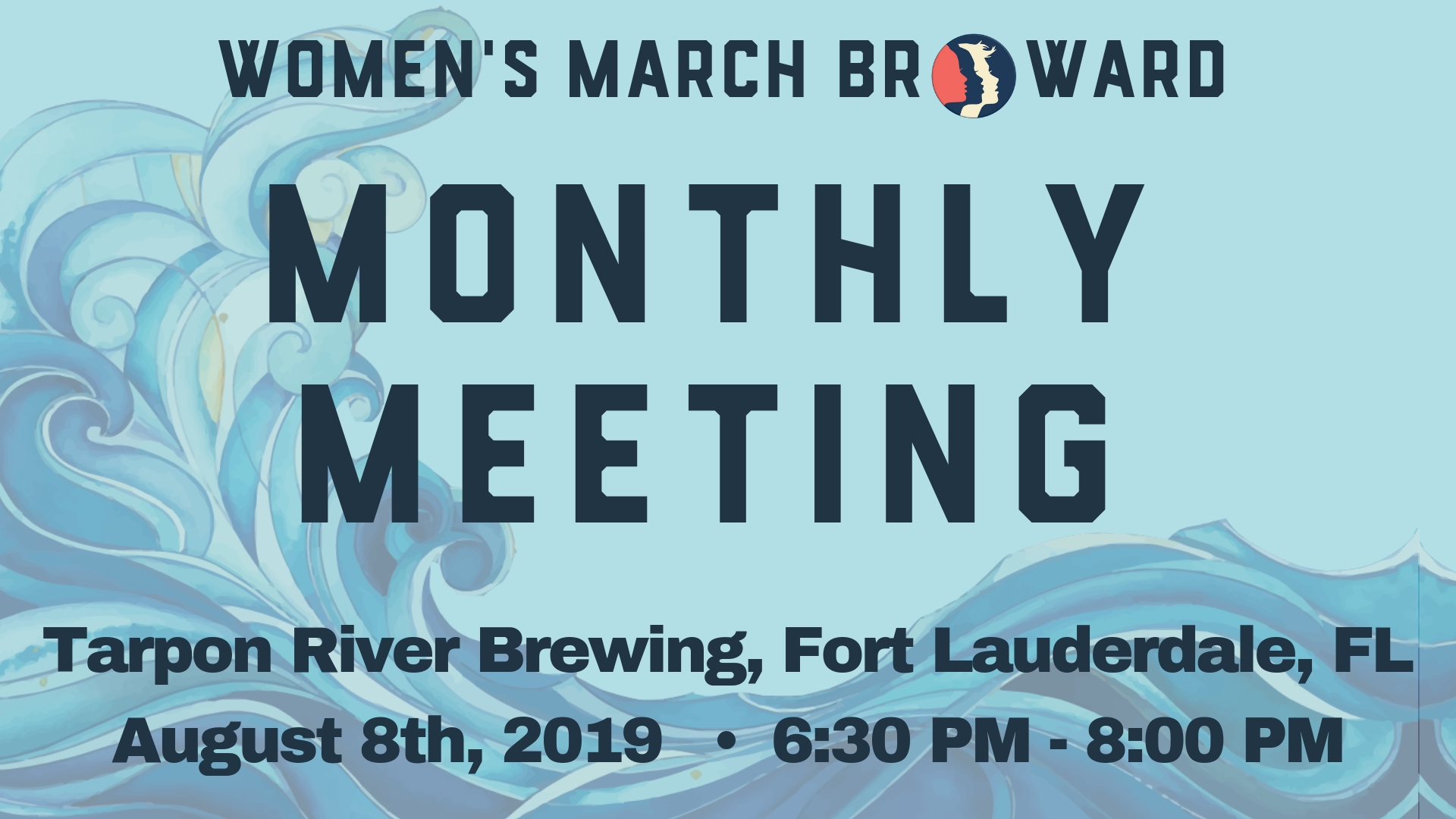 8-08-19: Monthly Meeting - Our next Monthly Meeting in August will be at a new location! We are excited to meet at Tarpon River Brewing located at 280 SW 6th Street, Fort Lauderdale, FL. Our speakers are from the amazing group, Miami Waterkeeper. The Miami Waterkeeper's mission is to defend, protect, and preserve South Florida's watershed through citizen engagement and community action rooted in sound science and research. They work to ensure swimmable, drinkable, fishable water for all. We will be discussing the effort to protect the reefs off the Florida shores.We look forward to seeing you on August 8th!