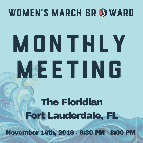 11-14-19: Monthly Meeting - At our November meeting we will be having a Lobbying 101 Session. We are excited to announce that Senator Dwight Bullard will be our guest speaker.Senator Bullard served in the Florida State Senate from 2008 through 2012. Bullard is a former teacher and currently serves as the Political Director at New Florida Majority. In this capacity, he works to bring political education and awareness to under served and often marginalized communities.With Mr. Bullard we will be discussing the best ways to be prepared when going to lobby in Tallahasee. We look forward to seeing you on November 14th!Social Time: 6:30 PM - 7:00 PMGuest Speaker: 7:00 PM - 8:00 PM