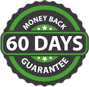 60 Day Money Back Guarentee Seal