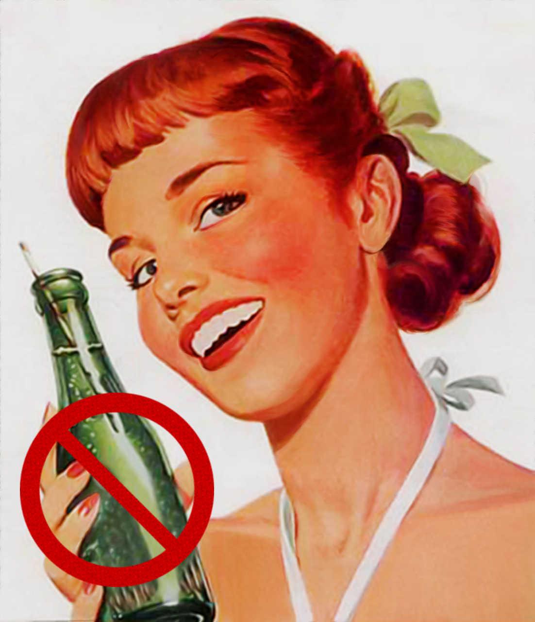 Old School Don't Drink Soda Ad