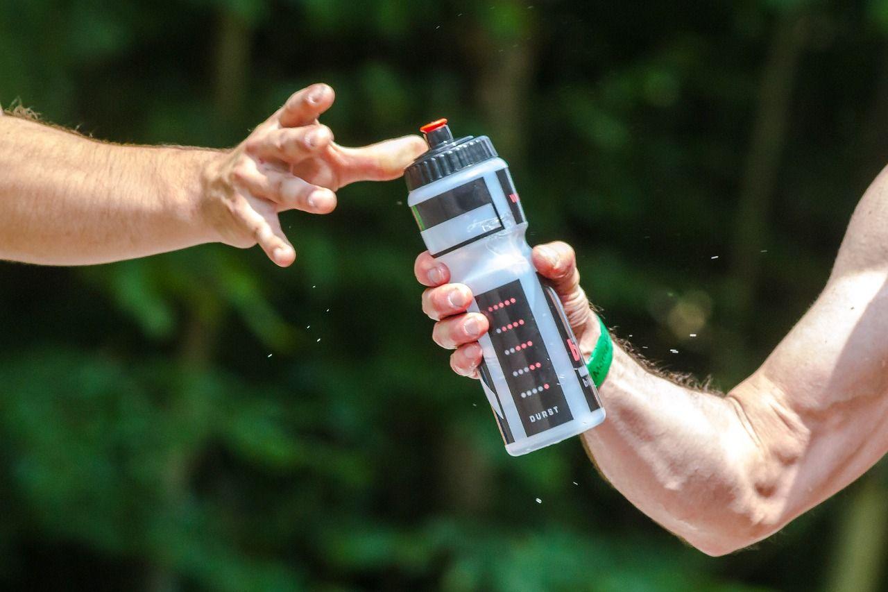 Water Bottle Handoff