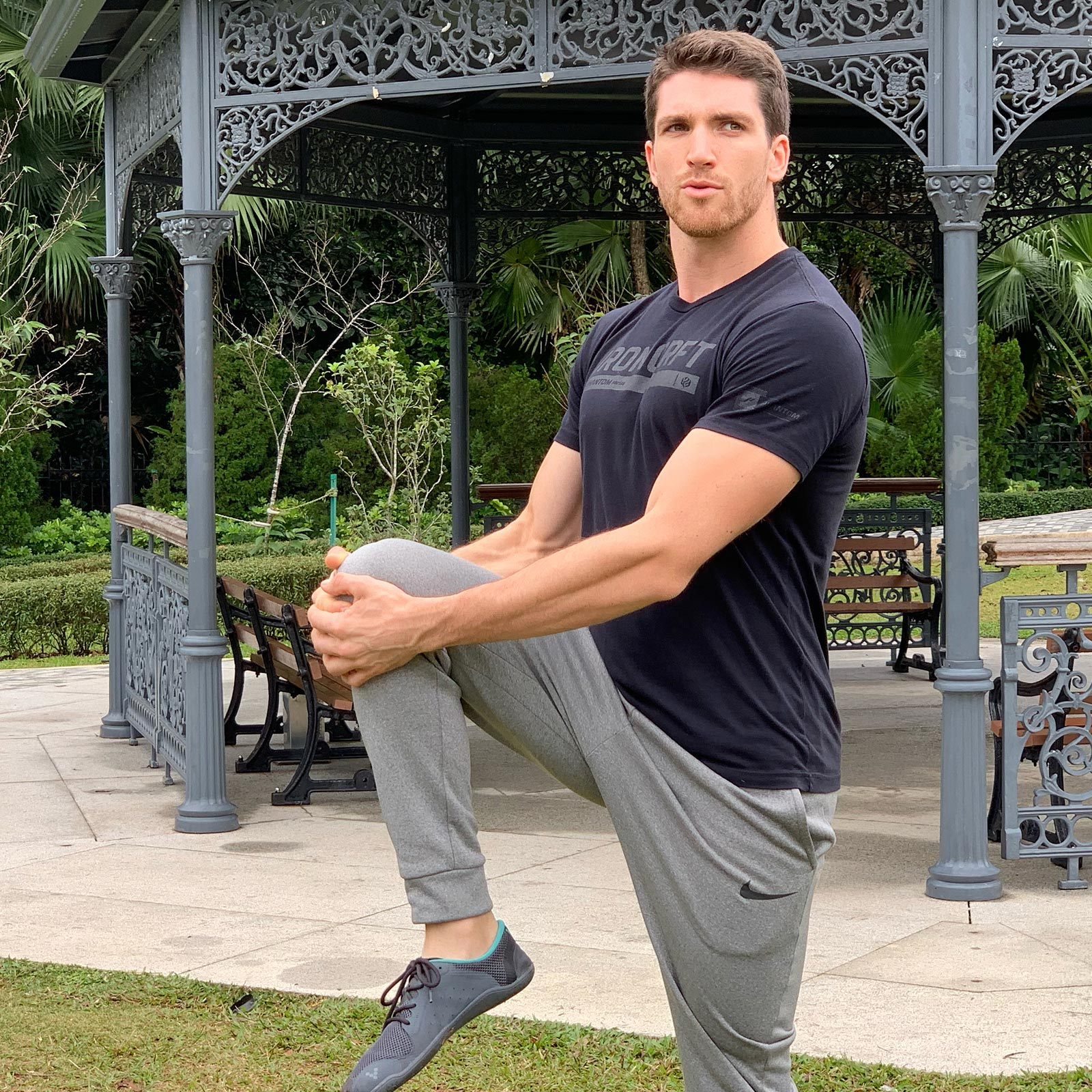 Author Stefan Burns Stretching Out