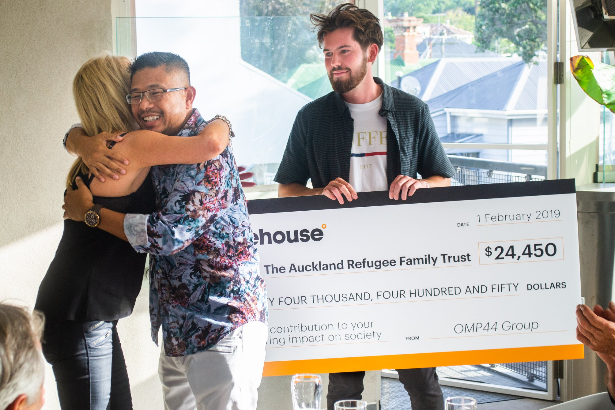 Organise an Auction - We were over the moon when a group of business people, who met on a course run by the The University of Auckland Business School and The Icehouse pooled their resources to auction items that raised a remarkable $24,500 to support us.