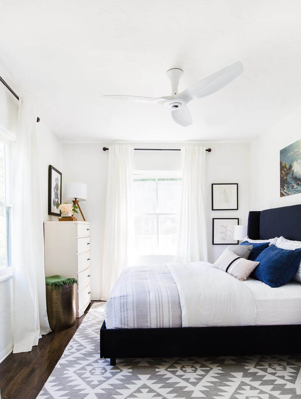Styled by Emily Henderson  // Haiku Home //  L Series Fan  // $550