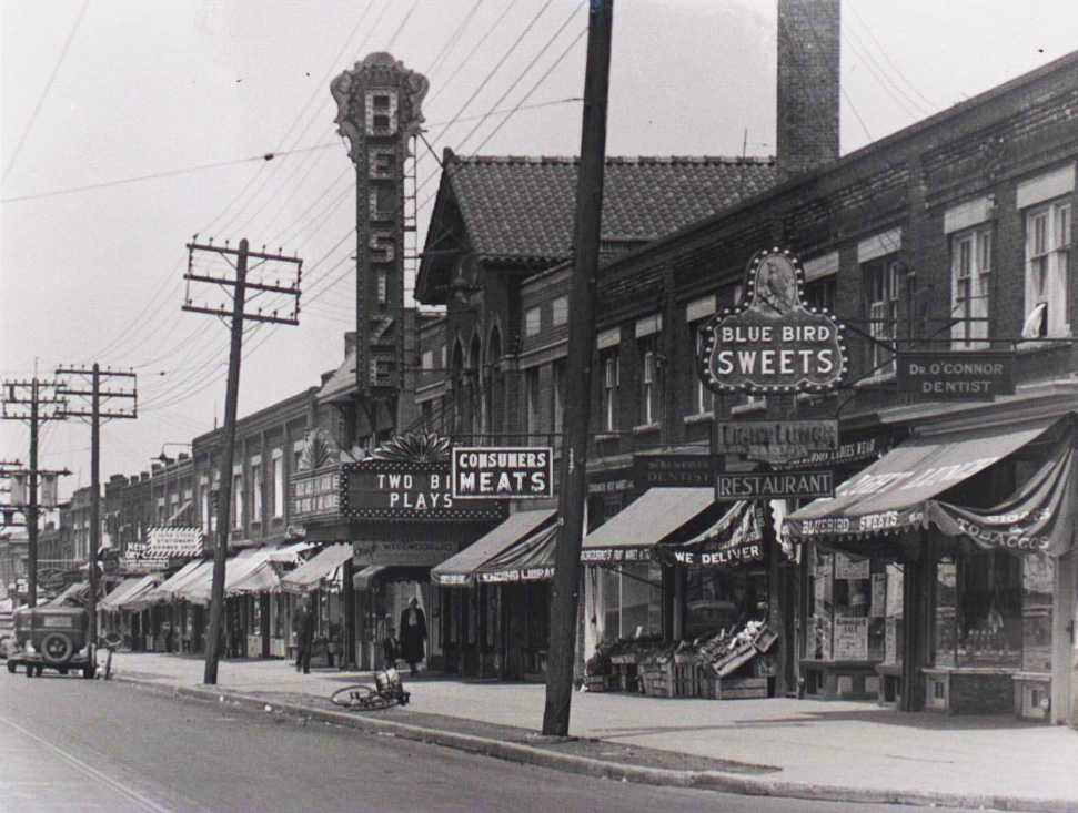 Photo: Late 1920's, City of Toronto Archives, Series 1278, file 27 (now The Regent Theatre)