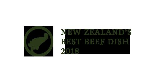 Silver Fern Farm Awards New Zealand's Best Beef Dish 2017 Chameleon