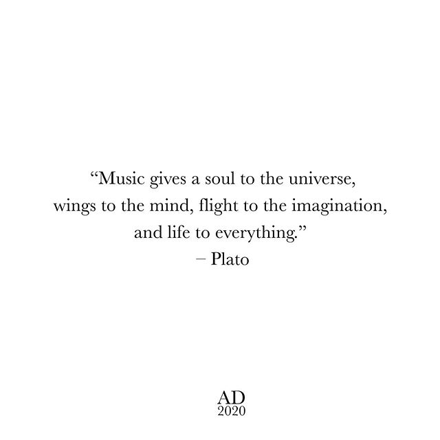 This guy gets it. #inspo #musicinspo #plato #ad2020