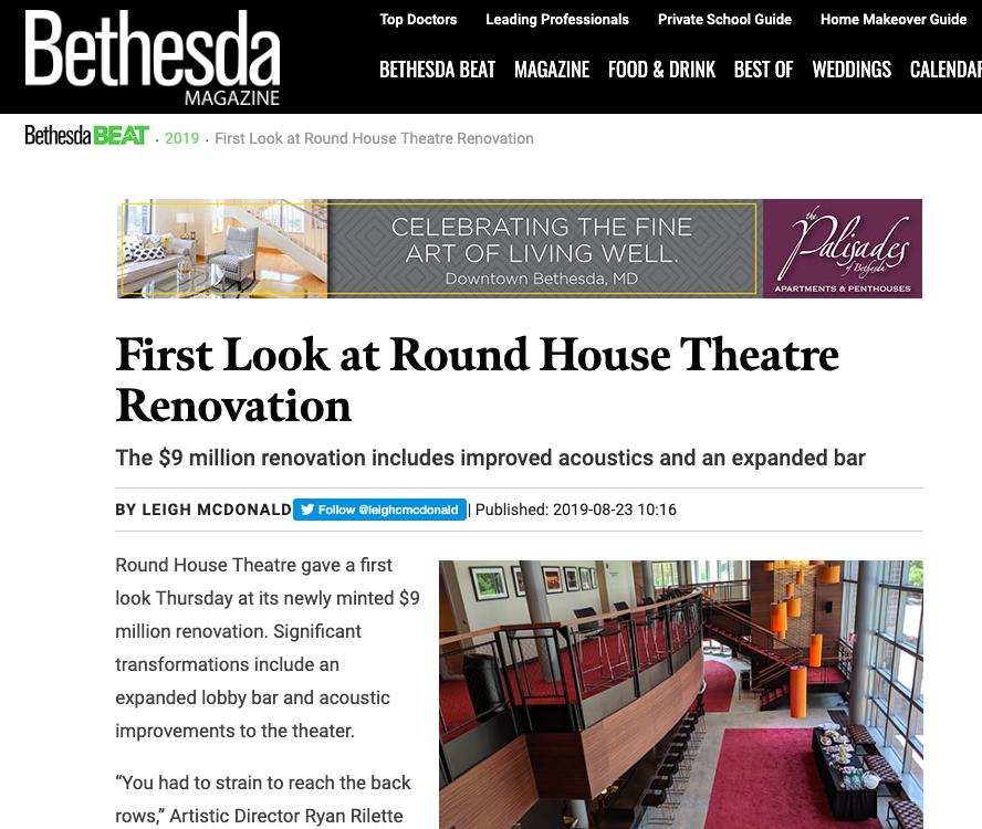 August 2019  -  Bethesda Magazine