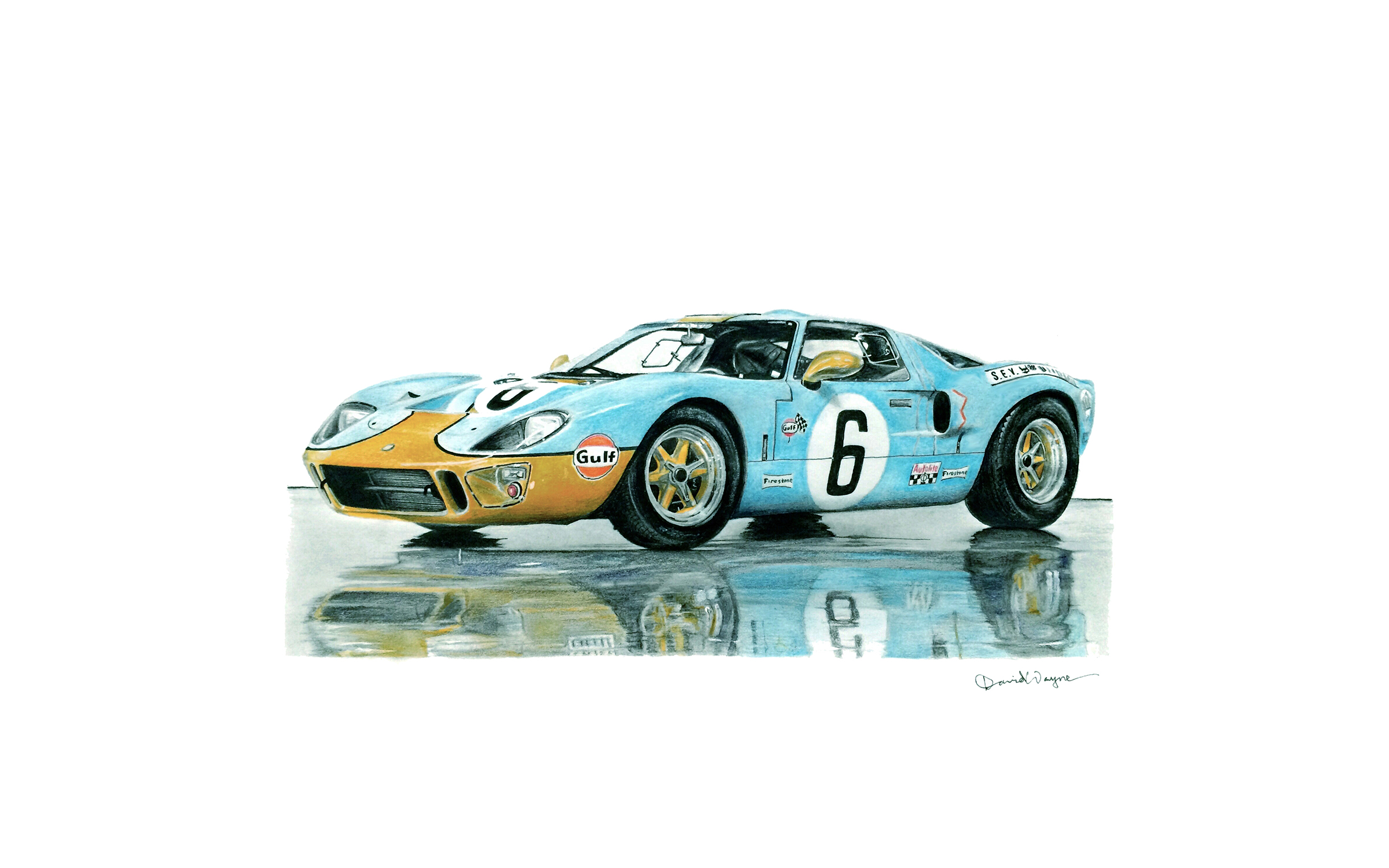 1969 Ford GT40 Le Mans Winner