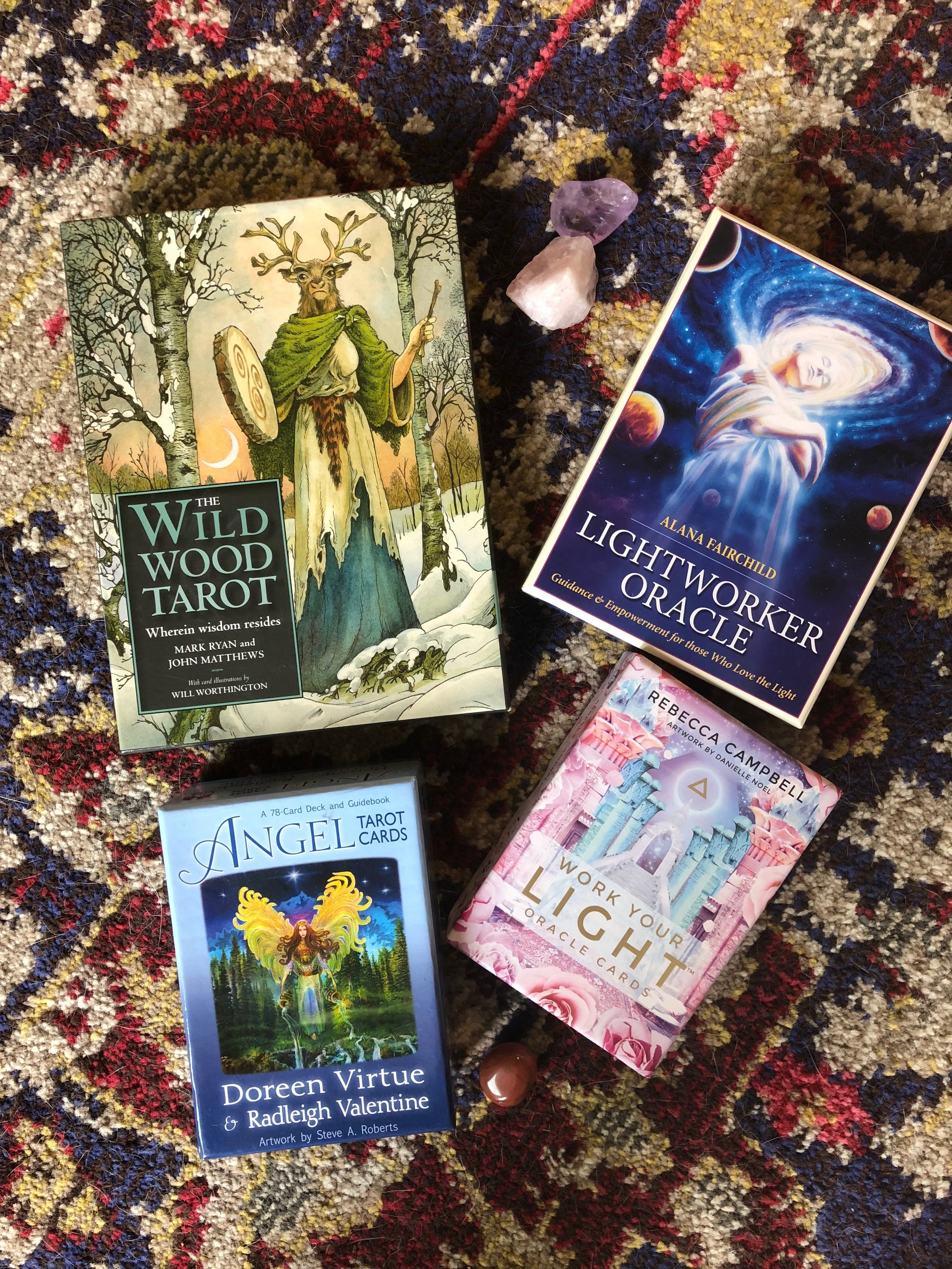 MY CARDS - I will intuitively ask + be guided to use the best deck for you.