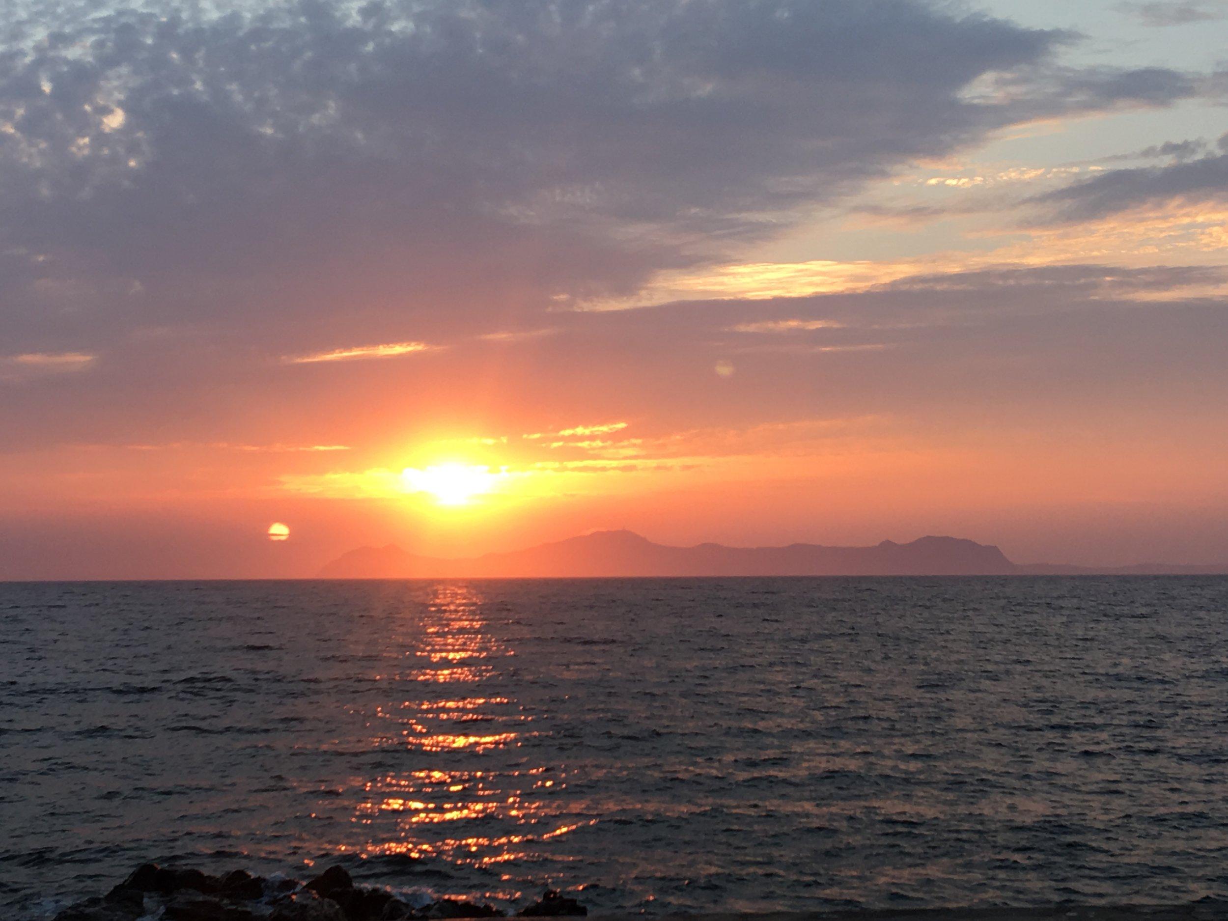 A MedSea Early Morning Sail