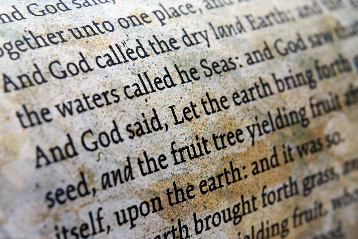 - Authored by man, inspired, breathed if you will, by God. Written over hundreds of years, it is the sweeping saga of God's love, grace and redemption made flesh in the person of Jesus Christ. It is inspiring, confusing, poetic, historic and mystical. Every bit of understanding is based on previous comprehension and leads to future revelation. Every passage is a layered excavation revealed with the tools of maturity, experience and wisdom. Even when it can't be understood, God is present in it which is equally terrifying and assuring. The Bible is God's unique revelation to mankind, the inspired, infallible Word of God without error in what it teaches and affirms. No other writings are vested with such divine authority.