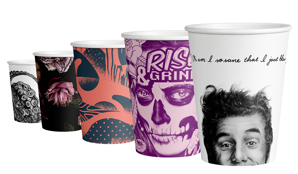 empoweringthe paper cup - we work with cafes, artists & not-for-profits to produceenvironmentally friendly cups that do more than just hold coffee...