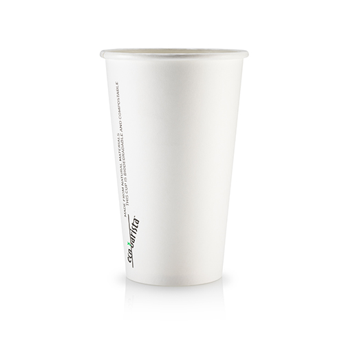 16oz Single Wall PLA Short White - This cup uses the same sized lid as all our cups in the Short series (8oz and 12oz).Paper Cup Project cups are lined with a renewable plant based material which can be recycled or composted.Packaging Specifications:1000 units per cartonSuitable LidBlack Lid Fits 8oz | 12oz | 16oz Short CupsWhite Lid Fits 8oz | 12oz | 16oz Short CupsCompostable Lid Fits 8oz | 12oz | 16oz Short CupsSkinny Range Or Short Range? Click here to see which is right for you.