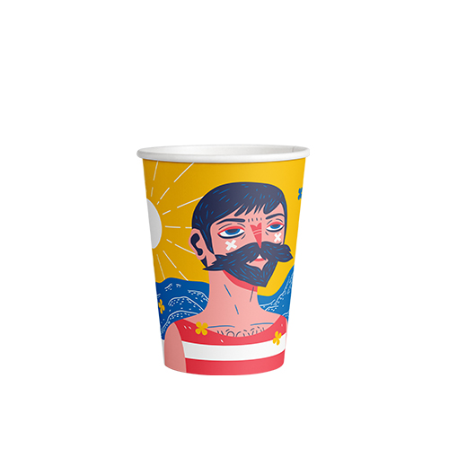 8oz Single Wall PLA Skinny Art Edition - This cup uses the same sized lid as all our cups in the Skinny series (6oz and 12oz). Artwork by @wildergrim.Paper Cup Project cups are lined with a renewable plant based material which can be recycled or composted.Packaging Specifications:1000 units per cartonSuitable LidBlack Lid Fits 6oz | 8oz | 12oz Skinny CupsWhite Lid Fits 6oz | 8oz | 12oz Skinny CupsCompostable Lid Fits 6oz | 8oz | 12oz Skinny CupsSkinny Range Or Short Range? Click here to see which is right for you.