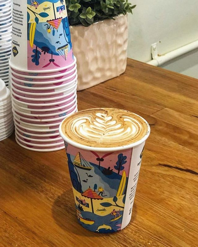 ABOUT P-TOWN ☀️ The fresh & fun @RACWA cup is in circulation, complete with @sofia_varano_illustrations 🎨 Grab one, tag us, share the P-love. 📷 RG @thelittleparry #papercupproject #supportlocal . . . . . .  #perthcafe #perthcoffee #perthcharity #perthbest #perthtodo #perthdrink #supportlocal #perthart #perthcreatives #perthlife #perthblog #perthblogger #perthrestaurant #coffee #cafe #perthblog #perthblogger #perthtodo #togo #takeawaycoffee #giveback #donate #compostable #coffeecup