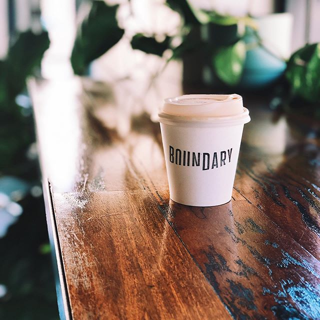 Top to Bottom this cup is fully compostable and #plasticfree. Huge respect for @boundary.northbridge for thinking about their 👣 on the 🌏 . @eco_barista #feelgoodaboutyourcup