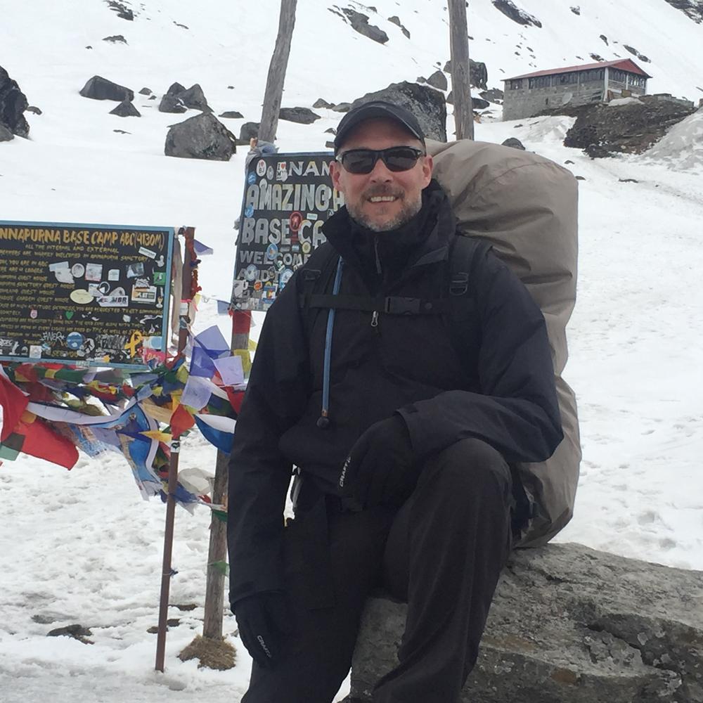 Happy im Himalaya