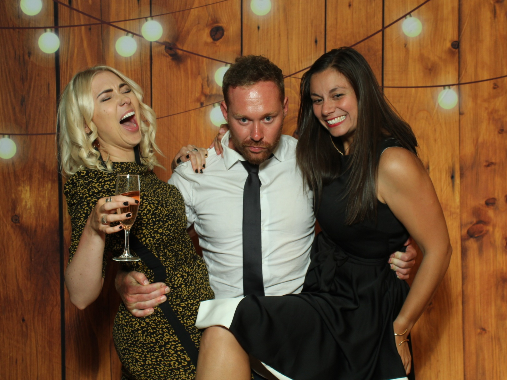And let's be honest…  - …there isn't much that tops an open bar, but we'd be willing to bet a photo booth will add just as much fun & entertainment to your party! Put the two together, and you're pretty much guaranteed some unforgettable photos the next day.