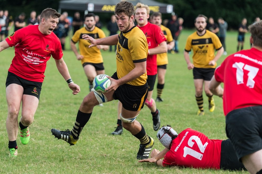 Rugby player from the Winchester Rugby FC team