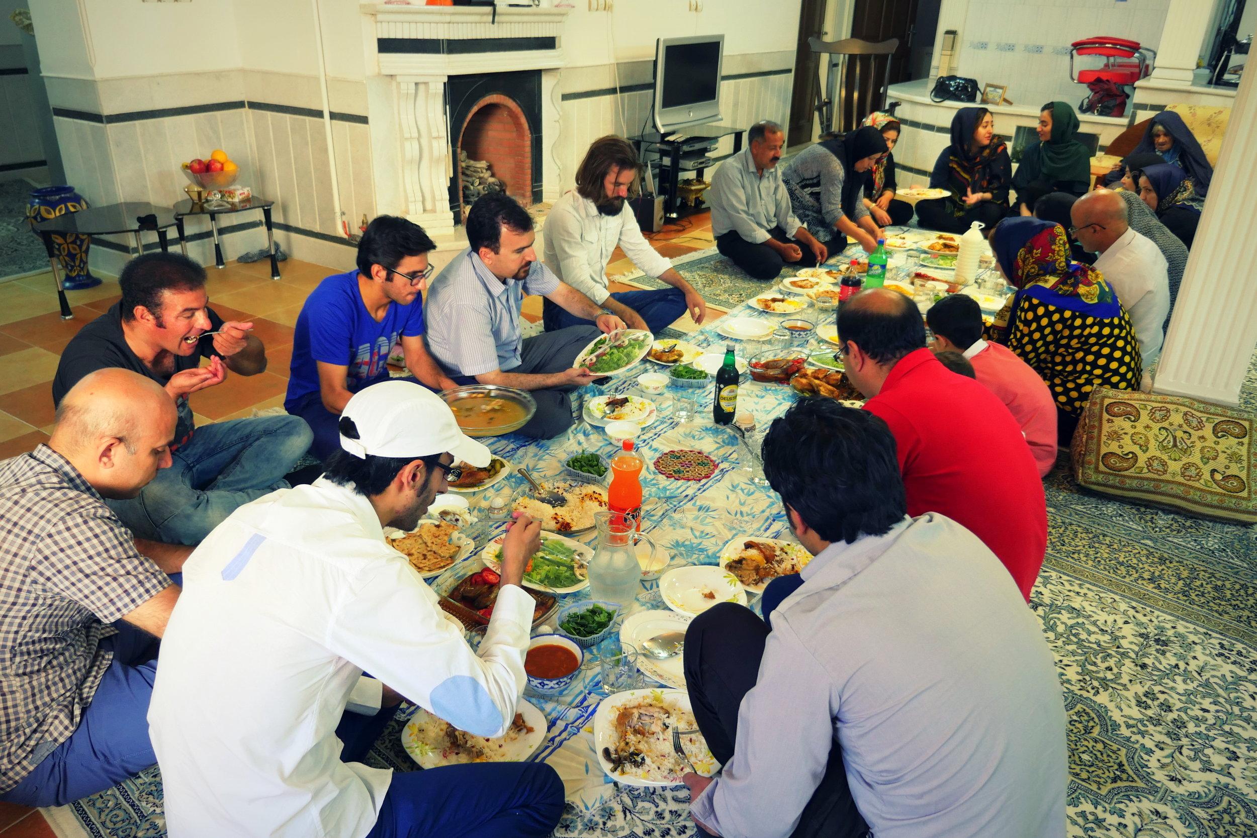 23. Iran, Yaz, celebrating with the family of Sima.jpg