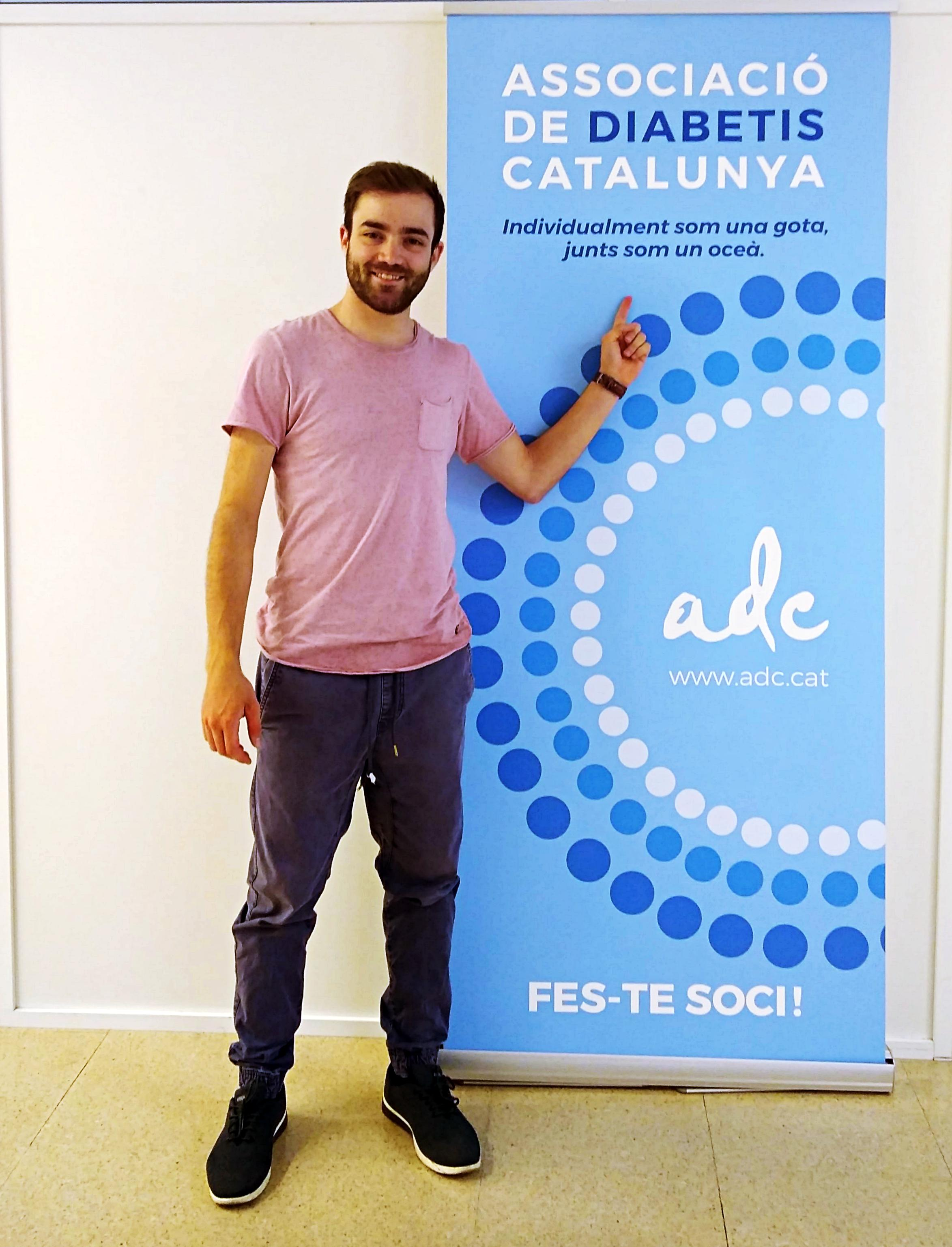 - We need more people involved and more associations collaborating. If we don't work together, we won't get any improvements.(Photo of Brais Dacal at his local association in Barcelona, Spain)