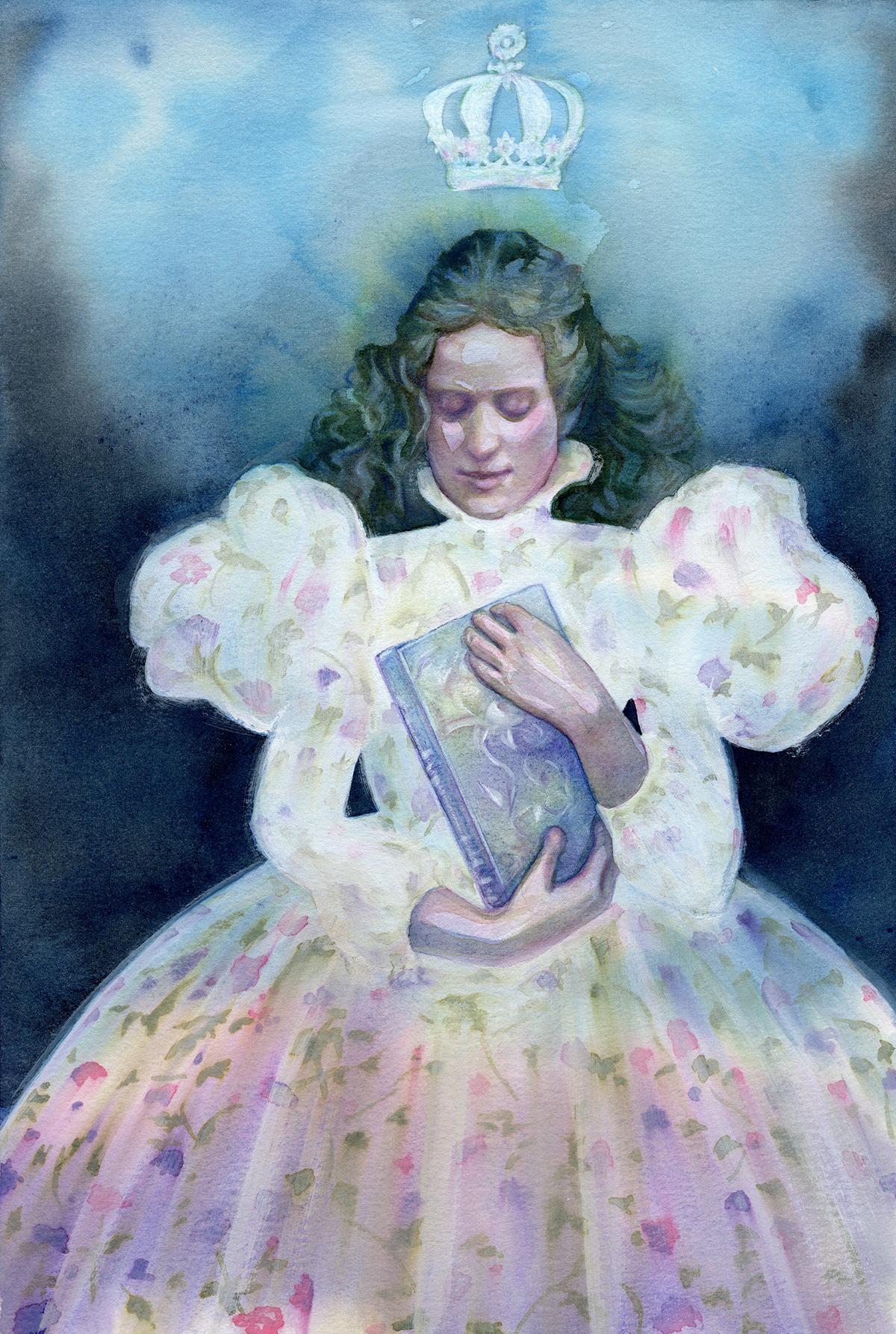 """The Lies We Tell - Watercolour - 11.69 x 16.55'"""" - $495"""