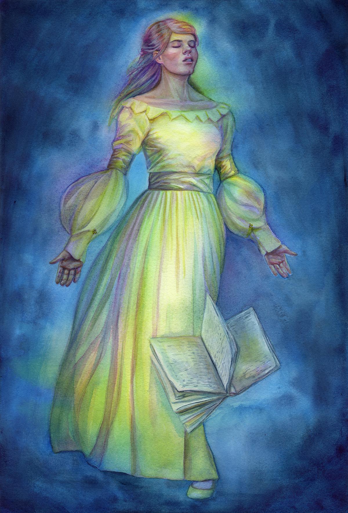 "Truth - Watercolour - 11.69 x 16.55'"" - $495"