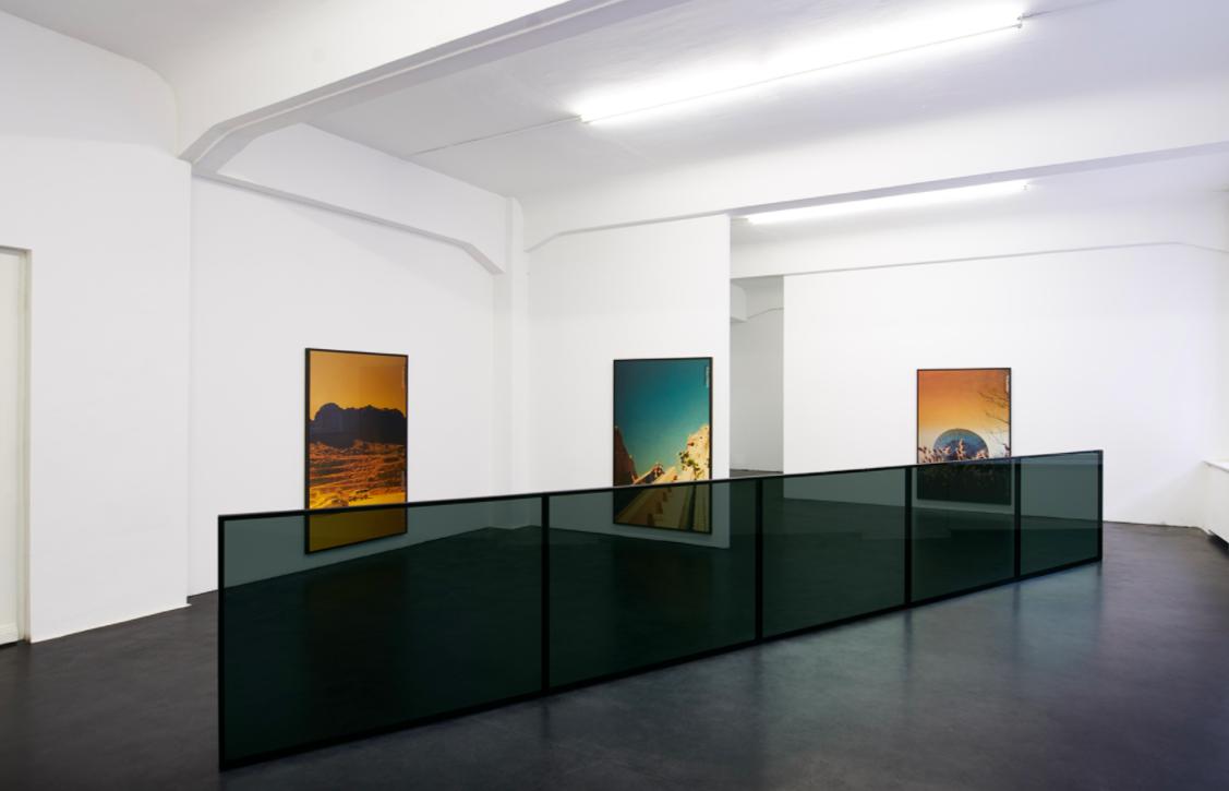 Виды инсталляции Колин Снапп/Даниэль Тернер, 2011 и Пейзажи, 2017