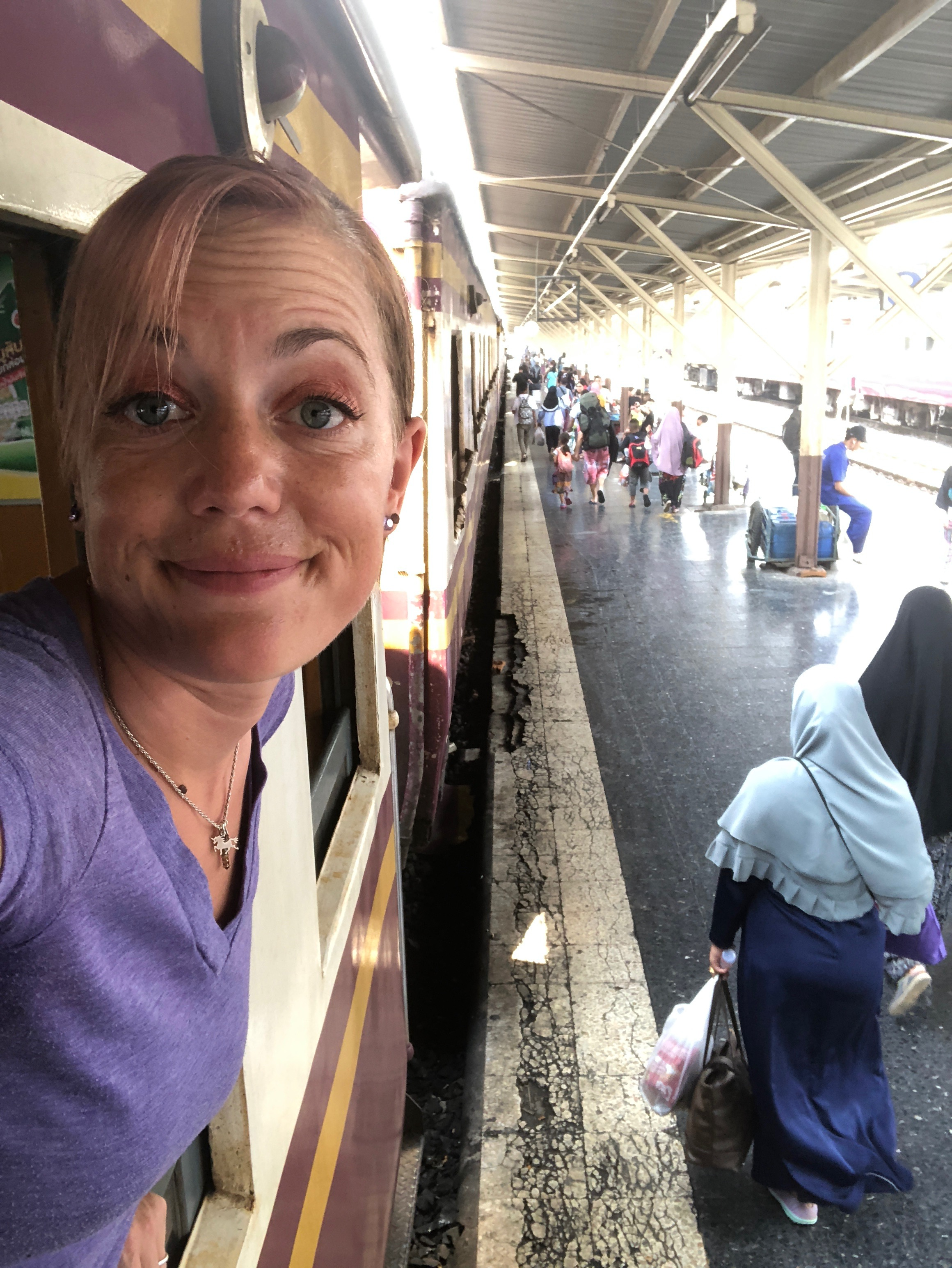 Eventually I made it back to Bangkok and took a train to begin my new job in Hua Hin at the DaVinci International School.  Stay tuned for my next post about my experience settling into Hua Hin and taking my first #visarun to Kuala Lumpur, Malaysia.  Thanks for reading and know I am thinking good thoughts about all of you!